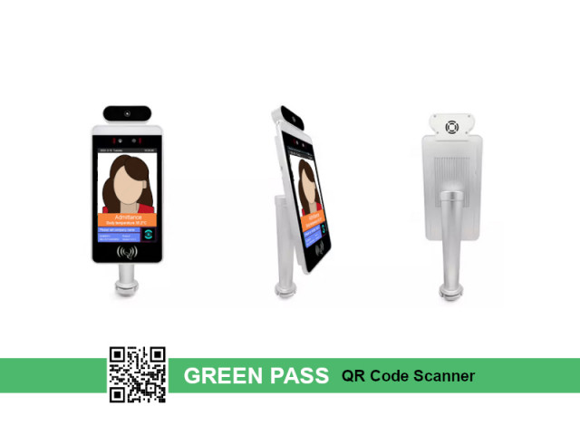 Product image YASHI THERMAL + GREEN PASS CODE SCANNER